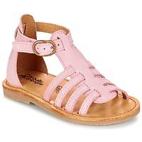 Shoes Girl Sandals Citrouille et Compagnie JASMA Pink