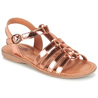 Shoes Girl Sandals Citrouille et Compagnie GROUFLA Bronze