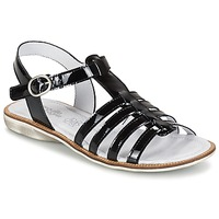 Shoes Girl Sandals Citrouille et Compagnie GROUFLA Black