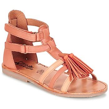 Shoes Girl Sandals Citrouille et Compagnie GOFARO Peach