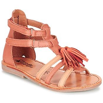 Shoes Girl Sandals Citrouille et Compagnie GOFARO Orange