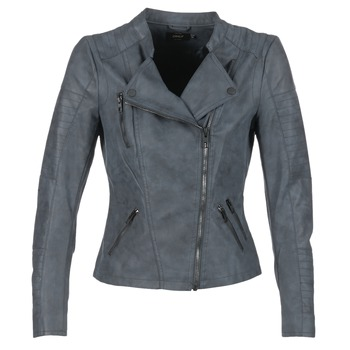 material Women Leather jackets / Imitation leather Only AVA MARINE
