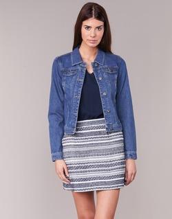 material Women Denim jackets Only DARCY Blue / MEDIUM