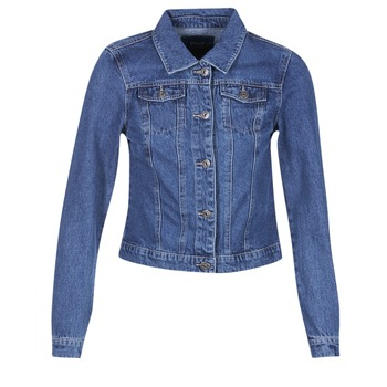 material Women Denim jackets Only DARCY Blue / MEDIUM
