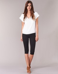 material Women cropped trousers Only RAIN KNICKERS Black
