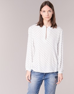 material Women Blouses Only NELLY 7/8 White