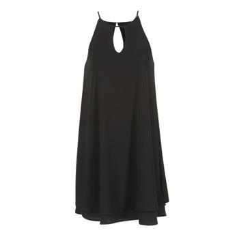 material Women Short Dresses Only MARIANA Black