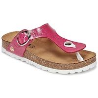 Shoes Girl Flip flops Citrouille et Compagnie GOMINET Pink