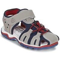 Shoes Boy Sandals Citrouille et Compagnie GUFUMO Grey