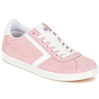 Shoes Women Low top trainers Yurban GUELVINE Pink