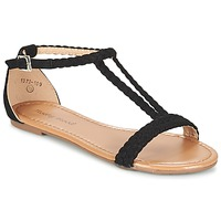 Shoes Women Sandals Moony Mood GEMINIELLE Black