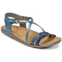 Shoes Women Sandals Kickers ATOMIUM Blue / Printed