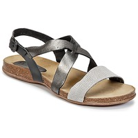 Shoes Women Sandals Kickers ANADAY Black / Grey