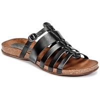Shoes Women Sandals Kickers ANAELLE Black