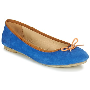 Shoes Women Ballerinas Kickers BAIE Blue / Orange