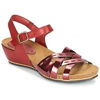 Shoes Women Sandals Kickers TOKANNE Red / Metallic