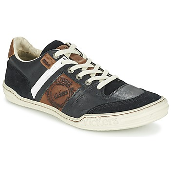 Shoes Men Low top trainers Kickers JEXPLORE Black