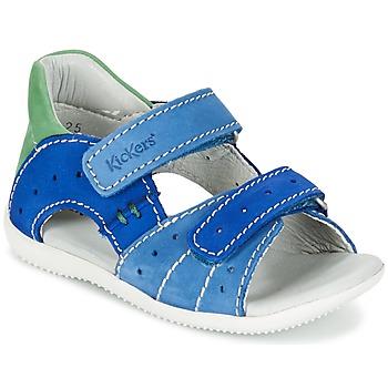 Shoes Boy Sandals Kickers BOPING Blue / Green