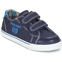 Shoes Boy Low top trainers Pablosky TEDOUME Blue