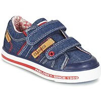 Shoes Boy Low top trainers Pablosky ERIVO Blue