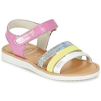 Shoes Girl Sandals Pablosky RETOKIA Multicolour