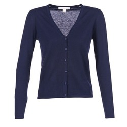 material Women Jackets / Cardigans Esprit EPILARA MARINE