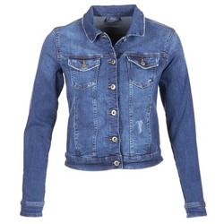 material Women Denim jackets Esprit CROVETTA Blue / MEDIUM