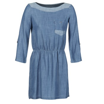 material Women Short Dresses Esprit CHAVIOTA Blue / Medium