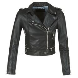 material Women Leather jackets / Imitation leather Oakwood YOKO Black