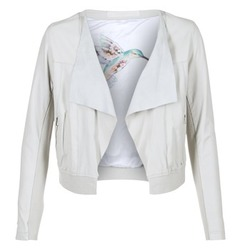 material Women Leather jackets / Imitation leather Oakwood 62266 White
