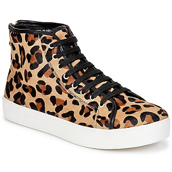 Shoes Women High top trainers North Star BEID Leopard