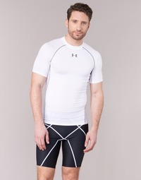 material Men short-sleeved t-shirts Under Armour Armour HG SS White