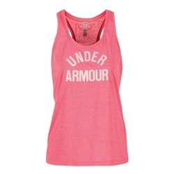 material Women Tops / Sleeveless T-shirts Under Armour THREADBORNET TWIST GRAPHIC Pink