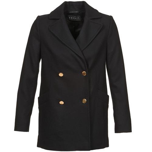 material Women coats Esprit WATTS Black