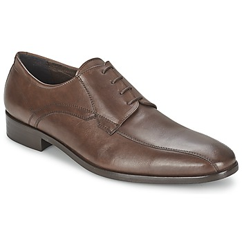 Shoes Men Derby shoes So Size CURRO Brown
