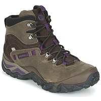 Shoes Women Hiking shoes Merrell CHAM SHIFT TRAVELER MID WTPF Olive