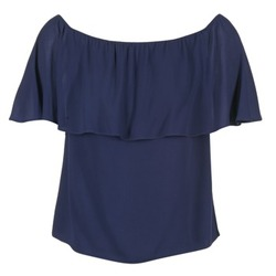 material Women Blouses Betty London GIVATE MARINE