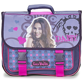 Bags Girl Satchels Dessins Animés CHICA VAMPIRO CARTABLE 38CM Violet