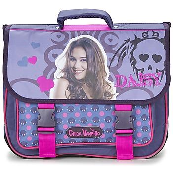 Bags Girl Satchels Dessins Animés CHICA VAMPIRO CARTABLE 38CM Violet