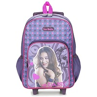 Bags Girl Rucksacks / Trolley bags Dessins Animés CHICA VAMPIRO SAC A DOS TROLLEY Violet