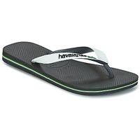 Shoes Flip flops Havaianas BRASIL MIX White / Black