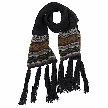 Accessorie Women Scarves Essentiel ZILE Black / KAKI