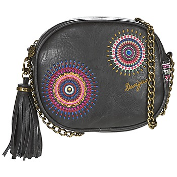 Bags Women Shoulder bags Desigual LISBOA GRETA Black / Multicolour