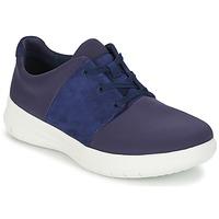 Shoes Women Low top trainers FitFlop SPORTYPOP X SNEAKER Marine