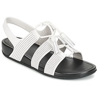 Shoes Women Sandals FitFlop GLADDIE LACEUP SANDAL White