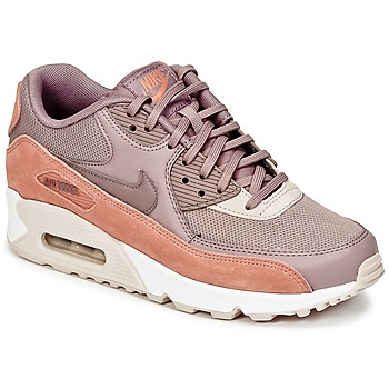 Shoes Women Low top trainers Nike AIR MAX 90 W Taupe / Pink