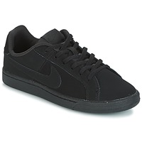 Shoes Children Low top trainers Nike COURT ROYALE GRADE SCHOOL Black