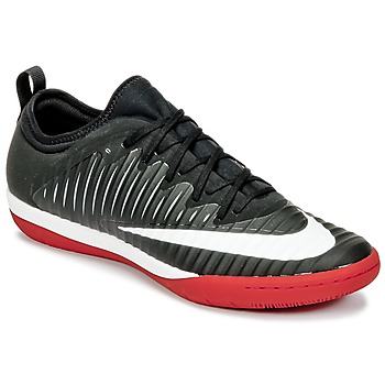 Shoes Men Football shoes Nike MERCURIALX FINALE II IC Black / White / Red