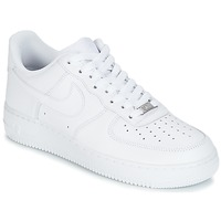 Shoes Men Low top trainers Nike AIR FORCE 1 07 White