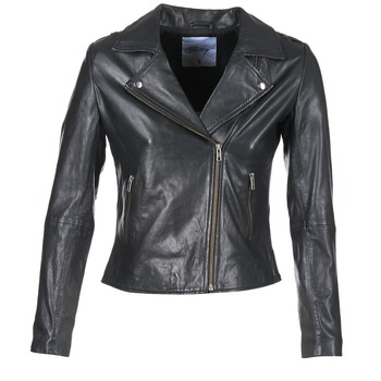material Women Leather jackets / Imitation leather Betty London GADITE Black